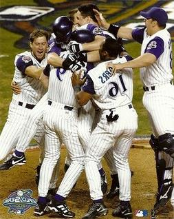 '01 ARIZONA DIAMONDBACKS 8x10 Team Celebration Photo 2001 WO