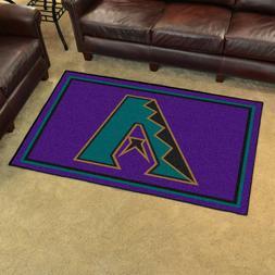 1998 Arizona Diamondbacks Retro Collection 4' X 6' Decorativ