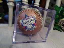 1999 Arizona Diamondbacks Dodgers Fotoball Opening Day Baseb