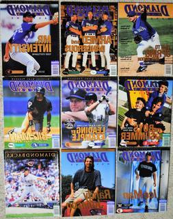 1999 Arizona Diamondbacks Magazine Dbacks MLB Baseball - You