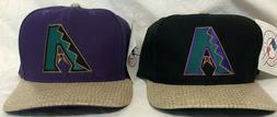Arizona Diamondbacks Purple & Black Snakeskin Snapback Hats