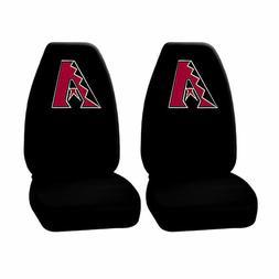 New 2PC MLB Arizona Diamondbacks Black Front High back Seat