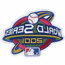 2001 MLB World Series Logo Sleeve Patch