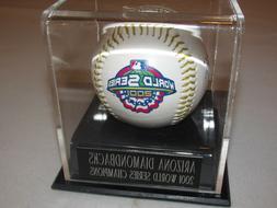 2001 world series champs collectible ball arizona