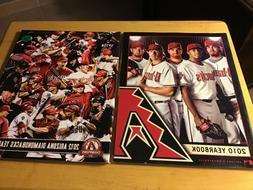 2010 and 2012 arizona diamondbacks yearbooks