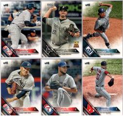 2016 Topps Baseball Series 2 - Base Set Cards - Pick From Ca