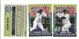 2019 KANE COUNTY COUGARS TEAM SET COMPLETE MINORS LOW A ARIZ