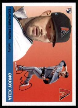 2020 Archives Base #61 Alex Young - Arizona Diamondbacks RC