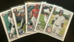 2020 Bowman 1st Edition Single Cards - Complete Your Set