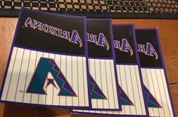 4 Postcards ARIZONA DIAMONDBACKS Post Cards