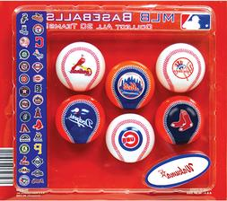 6 MLB Baseball Cake Cupcake Toppers Party Favors Birthday De