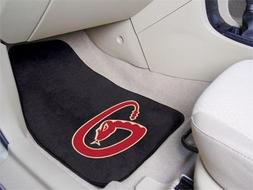 "Arizona Diamondbacks 2-piece Carpeted Car Mats 18""x27"
