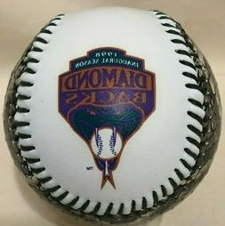 Arizona Diamondbacks 1998 Inaugural Season Snakeskin Basebal