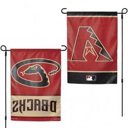 """Arizona Diamondbacks 2 Sided Garden Flag 12.5"""" x 18""""  MLB Fa"""