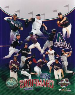 Arizona Diamondbacks 2001 World Series Champions 8x10 Photo
