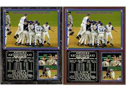 Arizona Diamondbacks 2001 World Series Champions Photo Plaqu