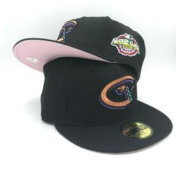Arizona Diamondbacks 2001 World Series New Era MLB Black Fit