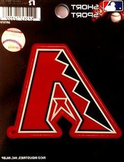 """Arizona Diamondbacks 3"""" Vinyl Sport Die Cut Decal Bumper Sti"""