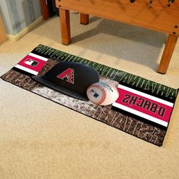 "Arizona Diamondbacks 30"" X 72"" Baseball Runner Area Rug Floo"
