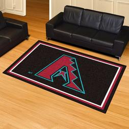 Arizona Diamondbacks 5' X 8' Decorative Ultra Plush Carpet A
