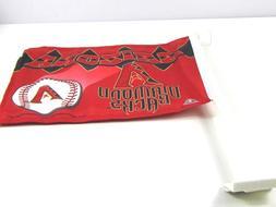 Arizona Diamondbacks Baseball Car Window Flag 11X15 2 Sided