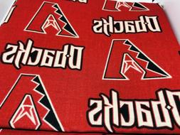 Arizona Diamondbacks Baseball Fabric 100% Cotton Dbacks Fabr