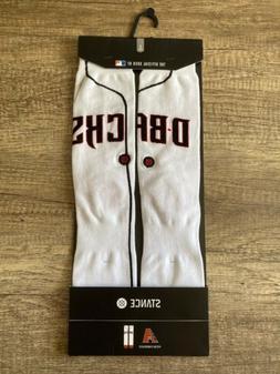 Arizona Diamondbacks Baseball Stance Socks MLB M558B18DBA La