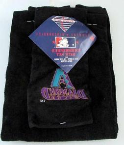 Arizona Diamondbacks Bath Towel and Wash Cloth - NWT - MLB M