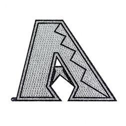 "Arizona Diamondbacks Bling Auto Emblem 6.25"" x 6.25"""