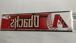 arizona diamondbacks bumper sticker