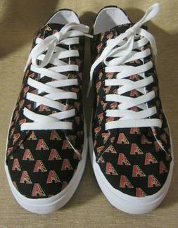 Arizona Diamondbacks Row One Canvas Adult Sneakers Shoe Men