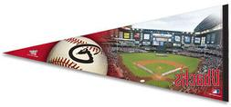 Arizona Diamondbacks Chase Field HUGE 17x40 Premium Felt PEN