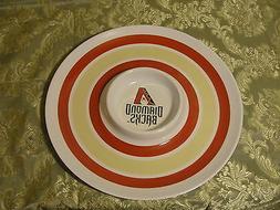 arizona diamondbacks chip and dip bowl very