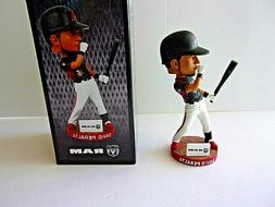 ARIZONA DIAMONDBACKS DAVID PERALTA  BOBBLEHEAD BLACK SHIRT N