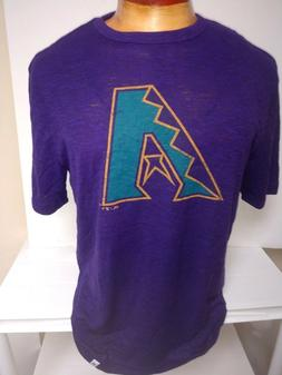 ARIZONA DIAMONDBACKS DBACKS SHIRT THROWBACK PURPLE MAJESTIC