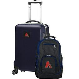 Arizona Diamondbacks Deluxe 2-Piece Backpack and Carry-On Se