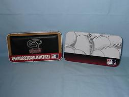 ARIZONA DIAMONDBACKS  Embroidered Leather CHECKBOOK   New in