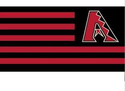 Arizona Diamondbacks flag New Banner Indoor Outdoor 3x5 ' US