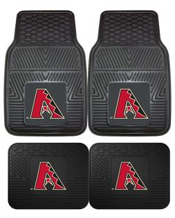 Arizona Diamondbacks Heavy Duty Vinyl Car, Truck, SUV Auto F
