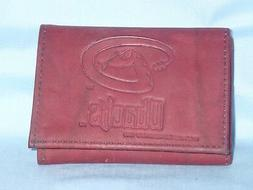 ARIZONA DIAMONDBACKS   Leather TriFold Wallet  NEW  dkb  3v