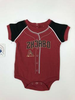 arizona diamondbacks licensed mlb baby one piece