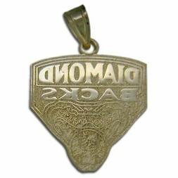 Arizona Diamondbacks Logo 14 kt Gold Pendant