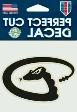 Arizona Diamondbacks Logo 4x4 Perfect Cut Car Decal See Desc