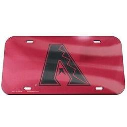 WinCraft Arizona Diamondbacks Logo Crystal Mirror License Pl
