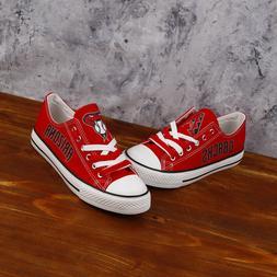 Arizona Diamondbacks Major League Baseball Team Canvas Shoes