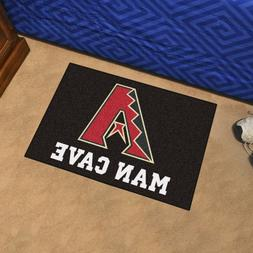 "Arizona Diamondbacks Man Cave 19"" X 30"" Starter Area Rug Flo"