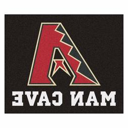 Arizona Diamondbacks Man Cave 5' X 6' Tailgater Area Rug Flo