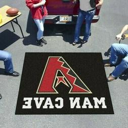 "Arizona Diamondbacks ""Man Cave"" Tailgater Rug or Mat for Tai"