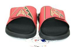 Foco Arizona Diamondbacks Men's Red Black Sandals Size XL 13