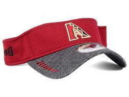 Arizona Diamondbacks MLB 2-Tone Training Visor Cap Hat D-Bac